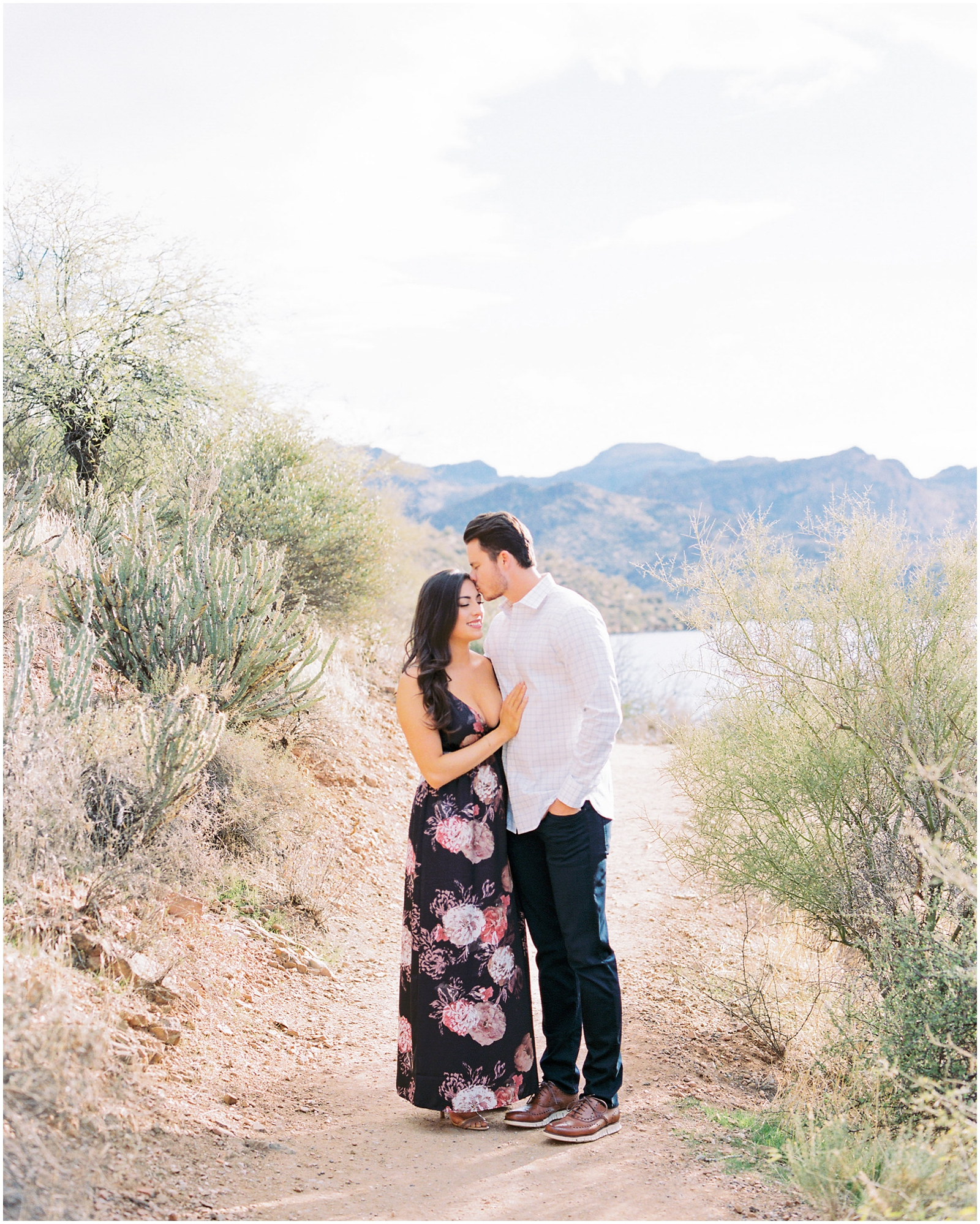 SAGUARO LAKE ENGAGEMENT – ALEXA & BLAKE