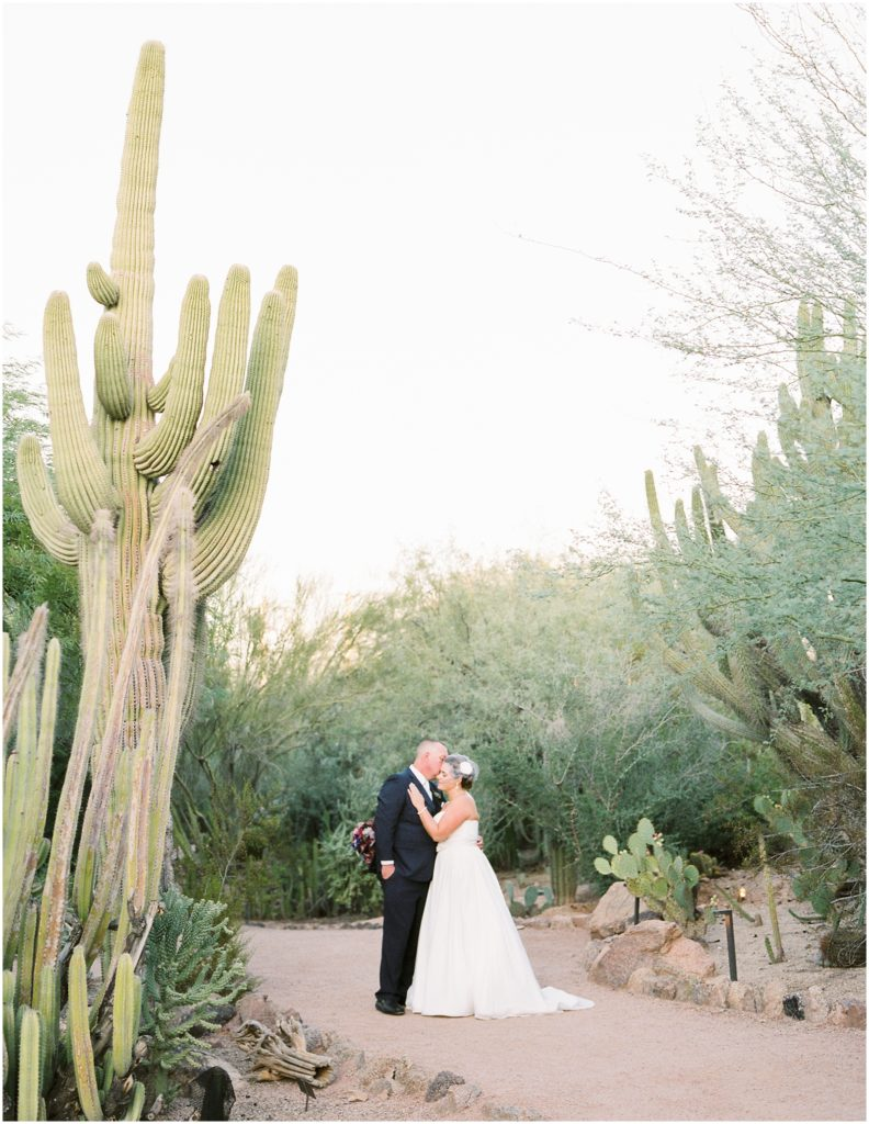 Desert Botanical Garden Wedding - Tasha Brady Photography | Arizona Wedding Photographer