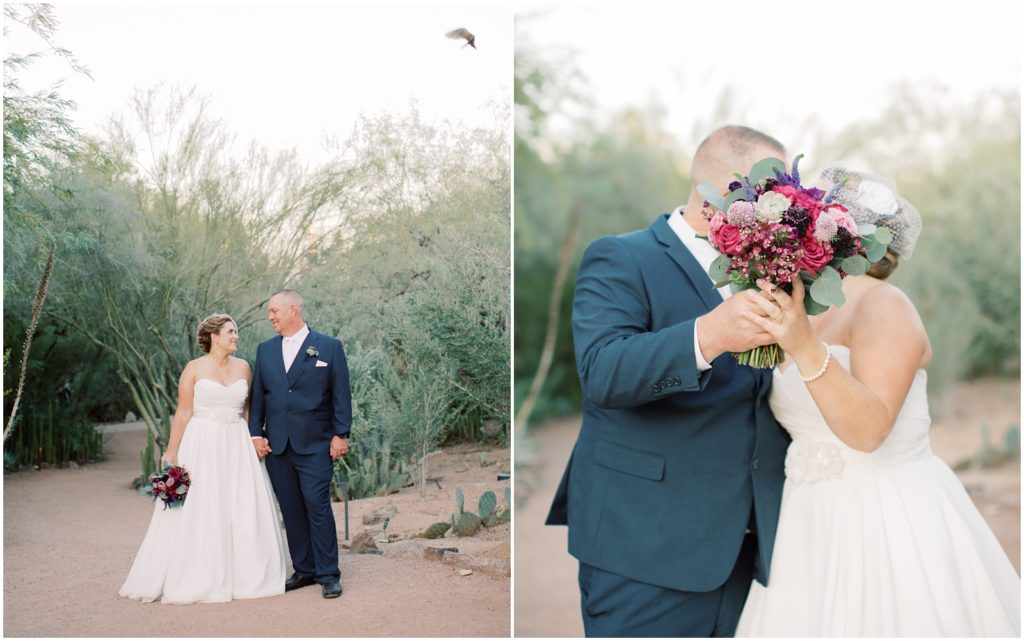 Desert Botanical Garden Wedding |Tasha Brady Photography