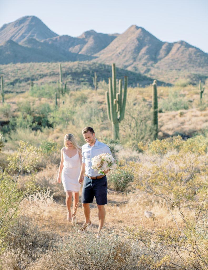 Jordan & Craig Desert Elopement (COVID-19)