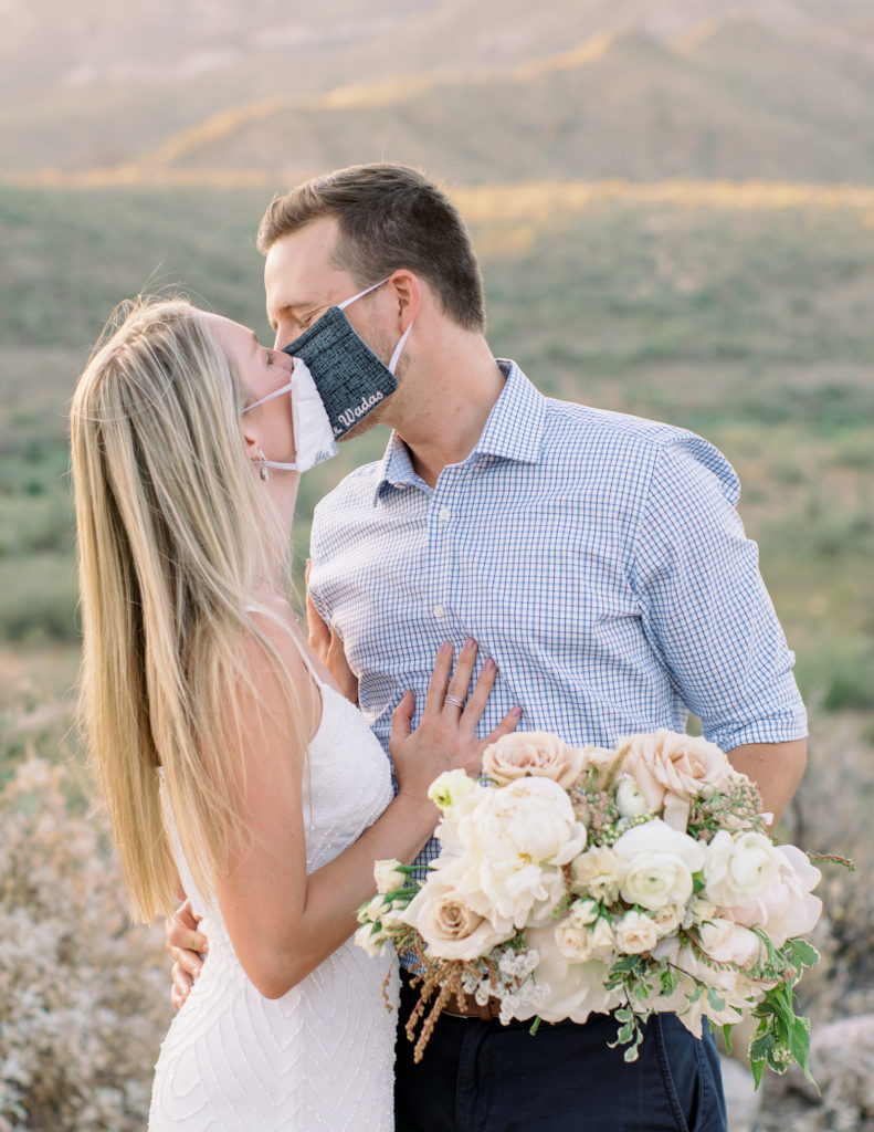 COVID Arizona Desert Elopement - Tasha Brady Photography