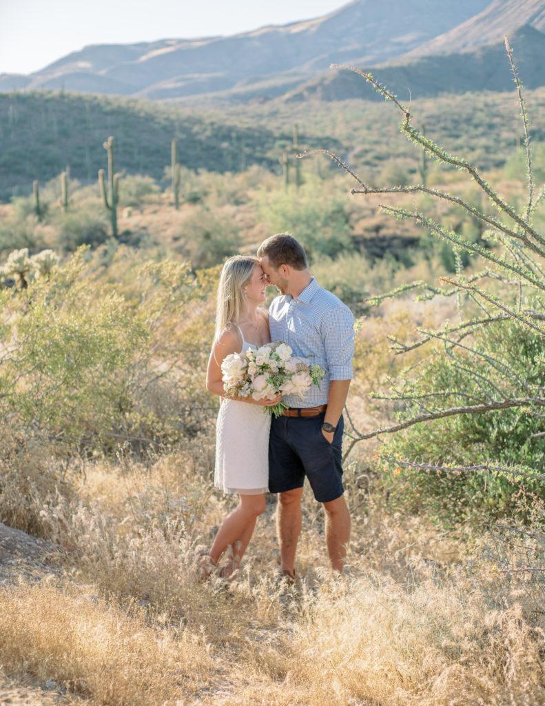 COVID Arizona Desert Elopement - Tasha Brady Photography
